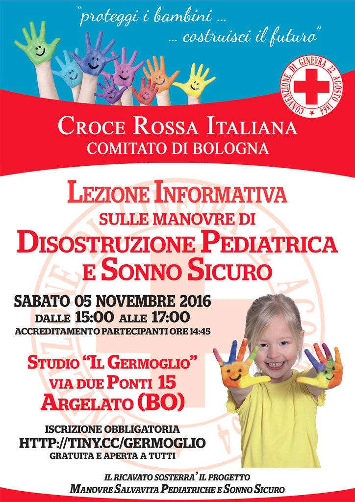 Lezione Informativa sulle manovre di Disostruzione Pediatrica e Sonno Sicuro