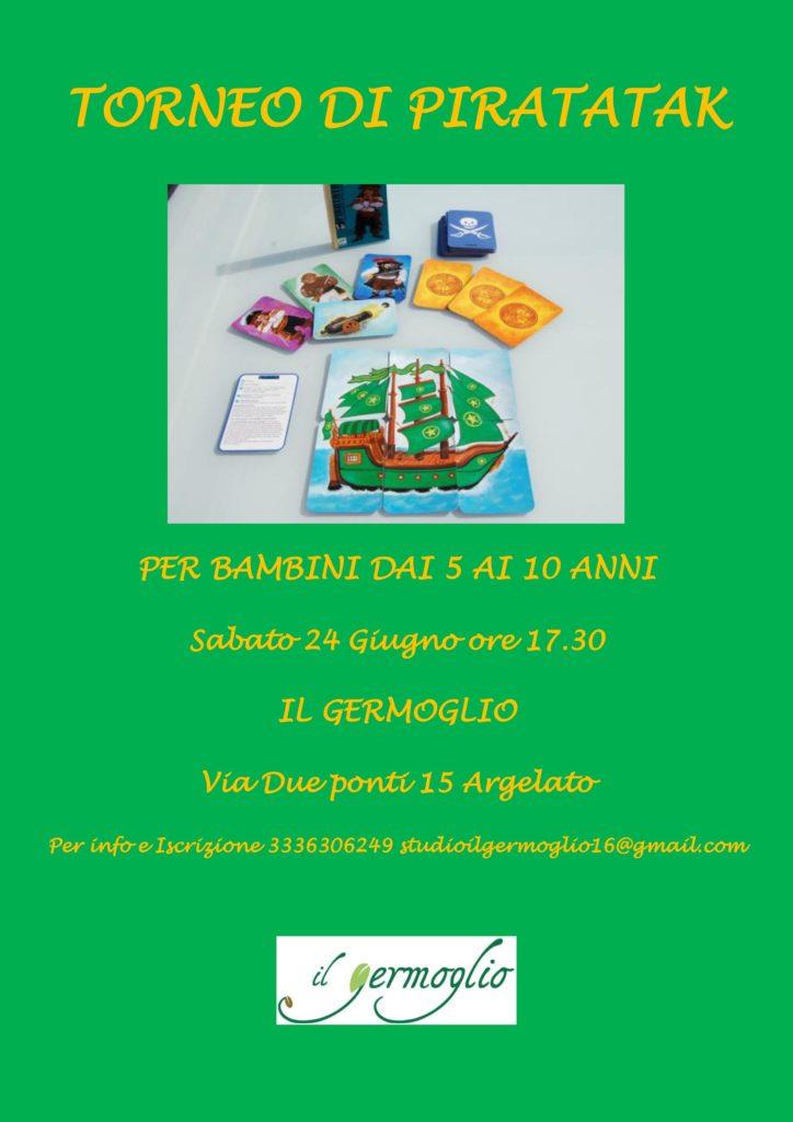 Torneo di Piratatak per Bambini dai 5 ai 10 anni!