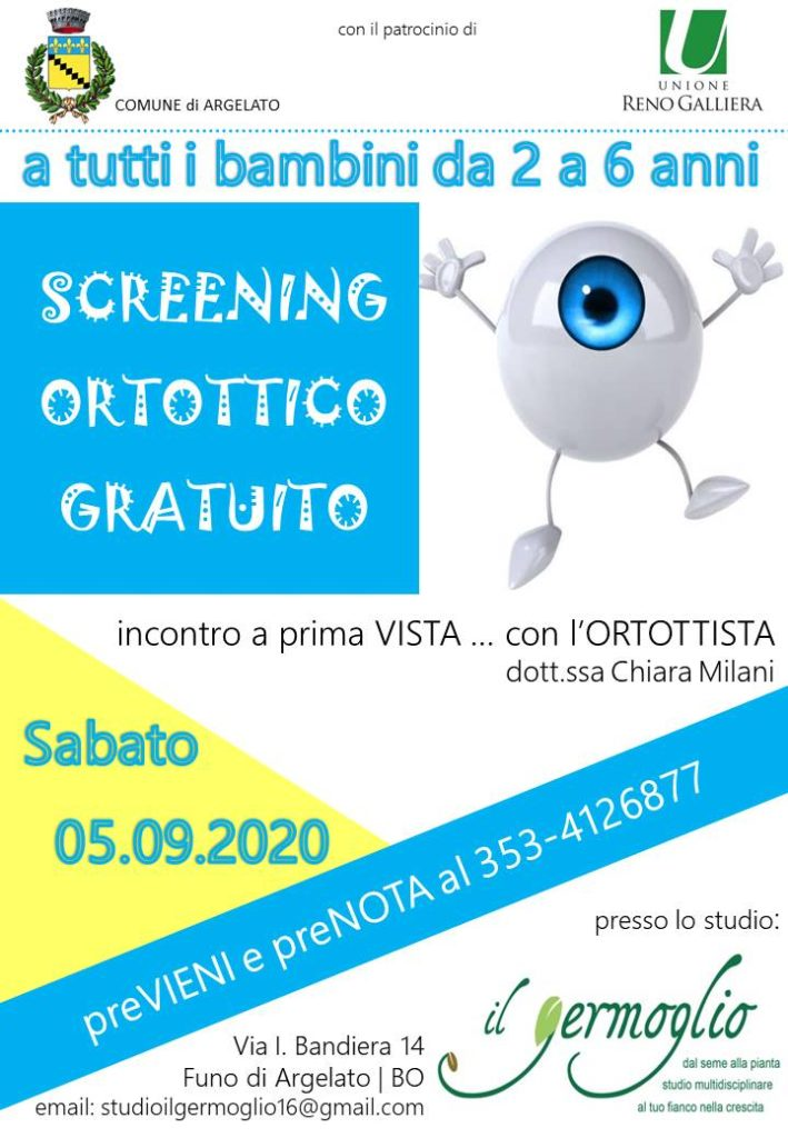 Screening Ortottico Gratuito
