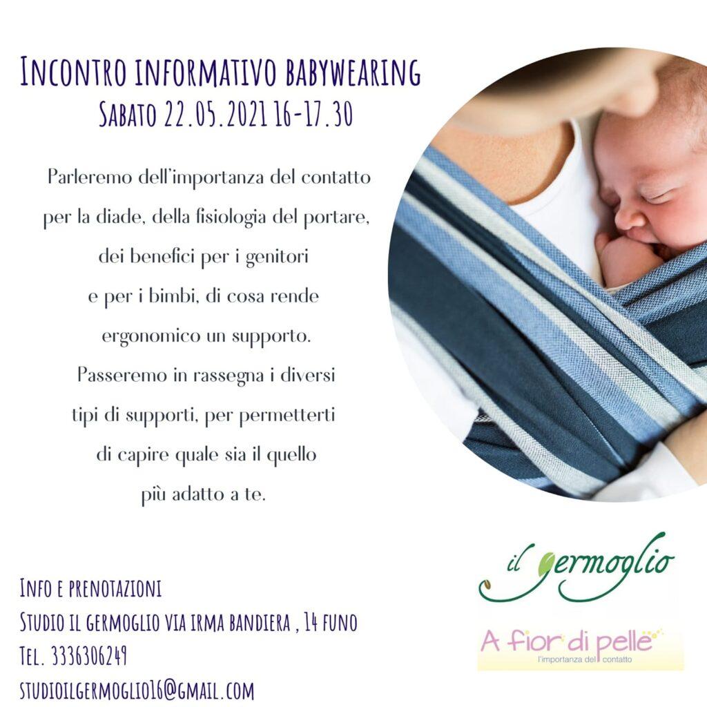 Incontro Informativo Gratuito sul Babywearing