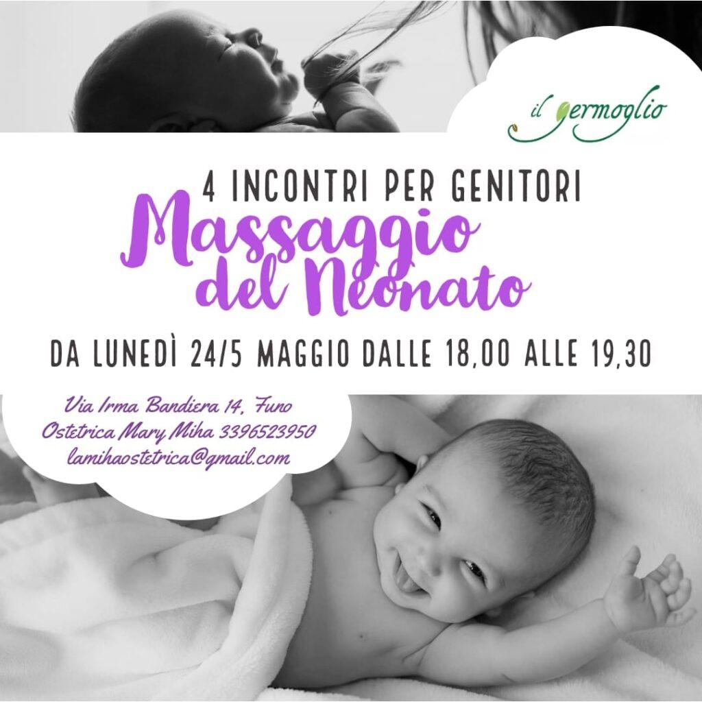 Corso di Massaggio infantile per  Genitori